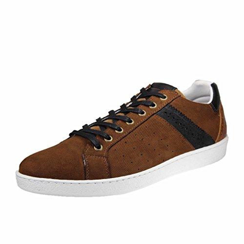 Herren Herren Mittelbraun Sneaker BULLBOXER Herren BULLBOXER BULLBOXER 3220f 3220f 3220f Sneaker Mittelbraun XgwqRR