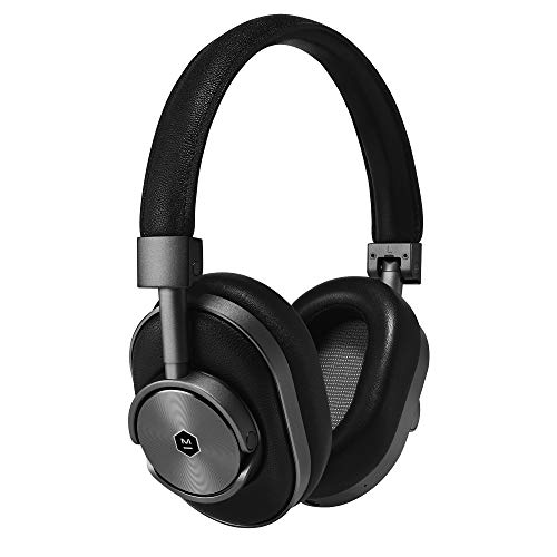 Master & Dynamic MW60 Wireless Bluetooth 4.1, Over-Ear, Closed Back Headphones with Superior Sound Quality and Highest Level of Design 45mm Neodymium Driver. Premium Black Leather