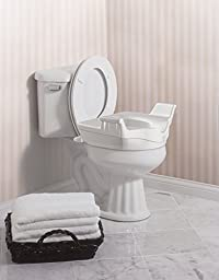 Moen DN8070 Home Care Elevated Toilet Seat, Glacier