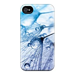 Protective Tpu Case With Fashion Design For Iphone 4/4s (abstract H2o)