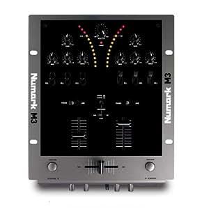 Numark M3 mezclador DJ de 2 canales-botones punch,killswitch