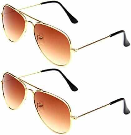 62abe5bea193 WODISON Classic Kids Aviator Sunglasses Reflective Metal Frame Children  Eyeglass JF Store Boys Sunglasses