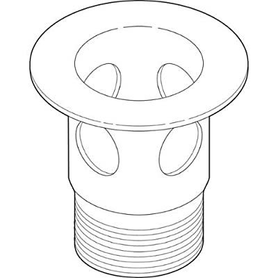 Delta RP23060 Drain Flange for Metal Pop-Up Assembly Replacement Part,