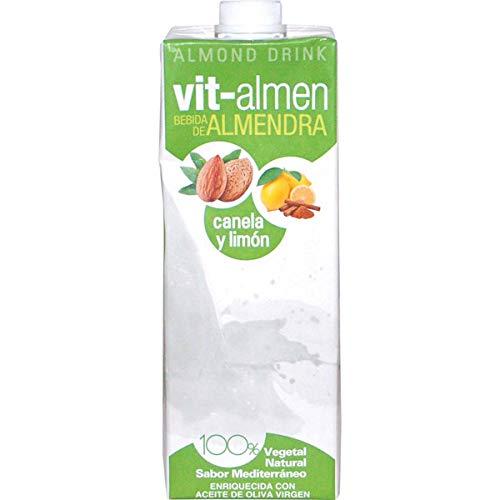 Vit-almen bebida de almendra con canela y limón - Caja de 6 x 1L