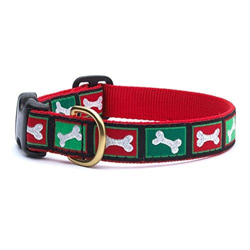 Up Country Christmas Bones Collar - Medium