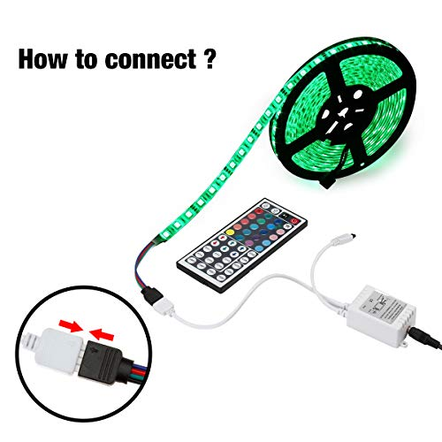 Large Product Image of SUPERNIGHT IR Remote Controller 44 Keys Mini Wireless Dimmer Control for 5050 3528 RGB LED Light Strip