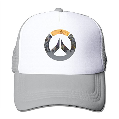 HandSon Custom Unisex-Adult Mesh First Shooter Video Game Sports Hat Caps Ash