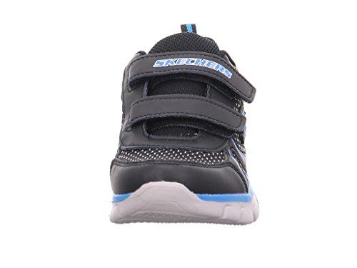 SkechersSynergy Mini Sprint - zapatillas bajas niños Schwarz Kombi