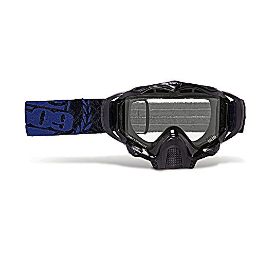 509 Sinister X5 Snow Goggles - Black Ice - Clear to Blue Photochromatic by 509