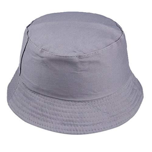 Women Men Bucket Hats,BCDshop Packable Travel Beach Holiday Fishing Sun Cap Headwear (Dark -