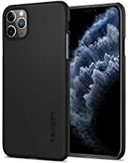 Spigen Thin Fit with Slim Profile Designed for iPhone 11 Pro Case Cover (2019) - Black