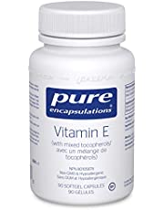 Pure Encapsulations - Vitamin E (with Mixed Tocopherols) - Supplement for Antioxidant Support - 90 Softgel Capsules