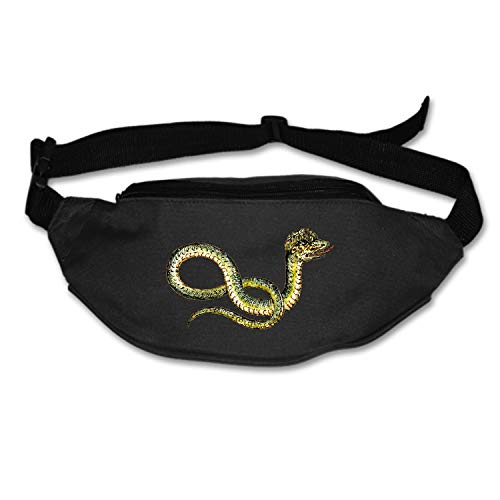 SEVTNY Running Belt Reptile Snake Waist Pack-Water Resistant Runners Belt Fanny Pack for Hiking Fitness�C Adjustable Running Pouch