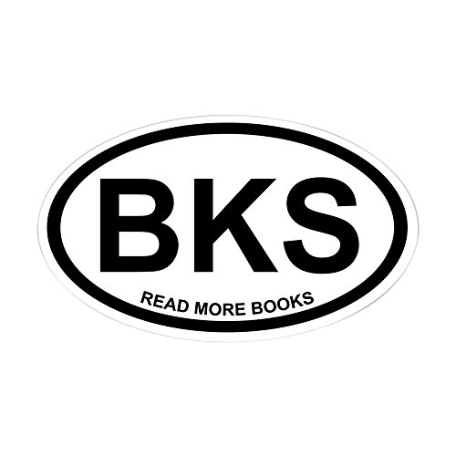 (CafePress Books Euro Sticker Oval Bumper Sticker, Euro Oval Car Decal )