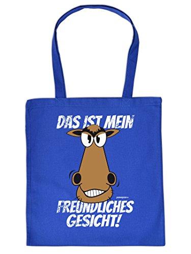 DAS IST MEIN FREUNDLICH ... - - Tote Bag Henkeltasche Beutel mit Aufdruck. Tragetasche, Must-have, Stofftasche.