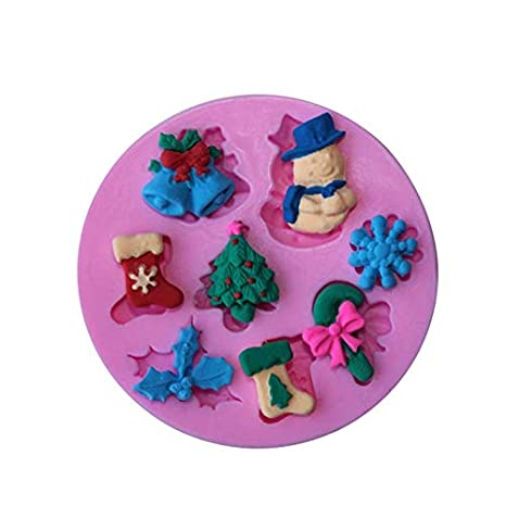 Molde de jabón de silicona para decoración de tartas y tartas: Amazon.es: Juguetes y juegos