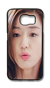 Samsung Galaxy S6 Customized Unique Hard Black Case Jun Ji Hyun Case S6 Cover PC Case