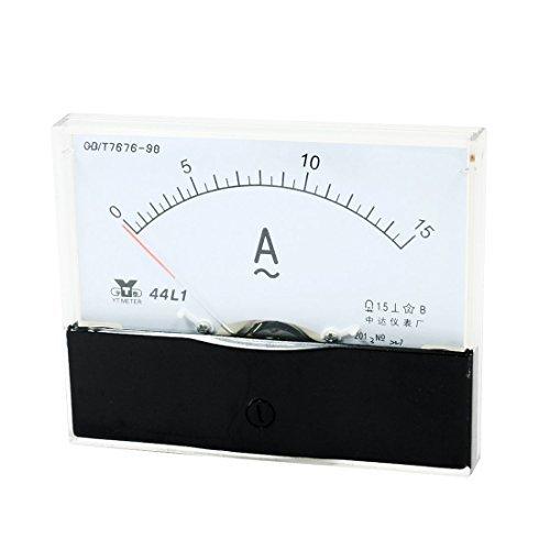 44L1 AC 0 -15A Classe 1.5 Pré cision Rectangle claire Panneau ampè remè tre analogique DealMux