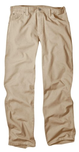 Dickies Men's Relaxed Fit Duck Jean, Desert Sand, 34x30 ()
