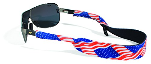 Croakies XL Croakies Eyewear Retainer, USA Flag (Usa Croakies)