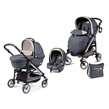 Modular System Carrycot + Car Seat + Baby Stroller Peg Perego Pliko ...