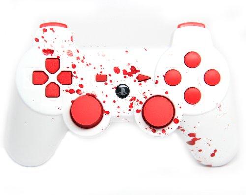 """Blood Splatter"" Ps3 Rapid Fire Custom Modded Controller ..."