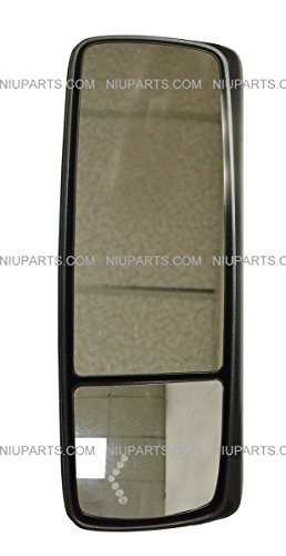 Door Mirror Power Heated Chrome – Driver Side ( Fit: Volvo VNL Trucks )