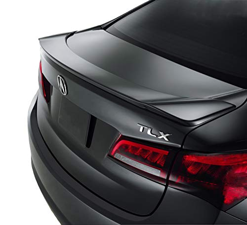 Spoiler for an Acura TLX Flushmount Factory Style Spoiler 2015-2019-Crystal Black Paint Code: NH731P