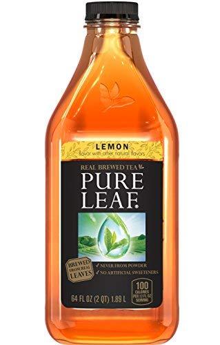 Pure Leaf Iced Tea, Sweet Lemon, 64 oz (Pure Leaf Tea Lemon)