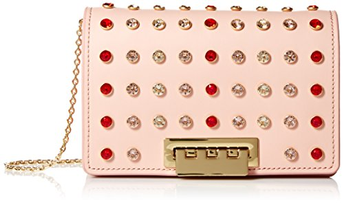 ZAC Rose Zac Posen Crossbody Earthette Rose Accordion rgxrzwH
