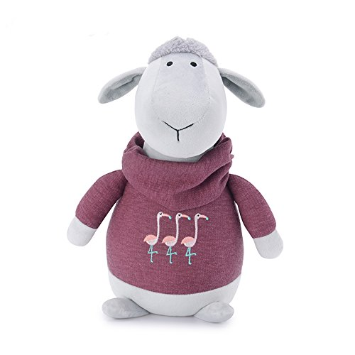 Me Too Cartoon Soft Plush Sheep Stuffed Lambs Fashion Cool Clothes Toys Dolls Gift - Best Novelty Songs Christmas