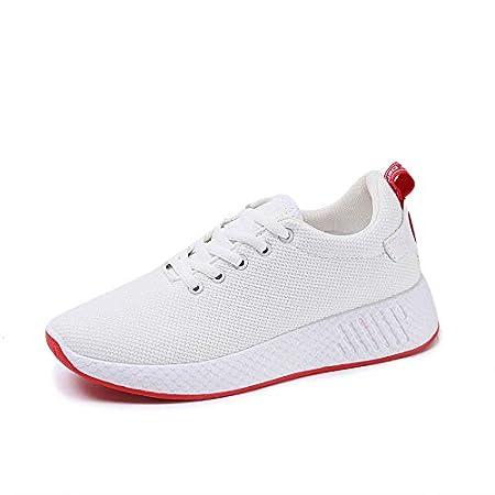 HOESCZS Zapatos De Mujer, Zapatillas De Deporte, Mocasines, Calzado Deportivo, Zapatos De Gran Tamaño, Blanco, 39: Amazon.es: Deportes y aire libre