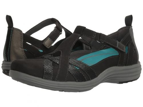 Aravon(アラヴォン) レディース 女性用 シューズ 靴 サンダル Beaumont Fisherman - Black 9 N (AA) [並行輸入品]