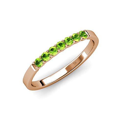 0.25 Ct Peridot Ring - 3