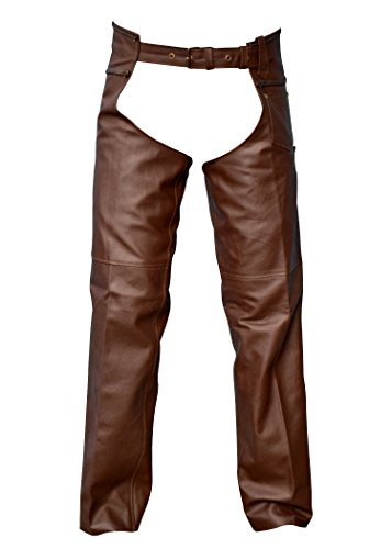 Leather Motorcycle Chaps - 3