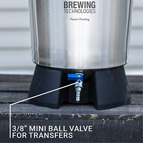 Ss Brewtech Home Brewing Mini Brew Bucket Fermenter; Stainless Steel (3.5 Gallon) by Ss Brewtech (Image #1)