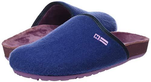 Blu 005 denim Nordikas Retro Pantofole Active Donna Sul Aperte x6Aqv
