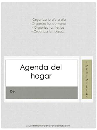 Agenda-Organizador (Spanish Edition) - Kindle edition by ...