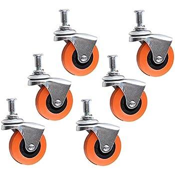 Amazon Com Alazco 6 Heavy Duty 2 5 Quot Swivel Caster Wheel
