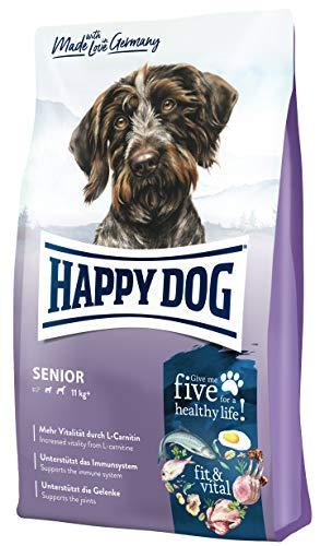 Happy Dog 60766 – Supreme fit & vital Senior – Hunde-Trockenfutter für ältere Hunde – 12 kg Inhalt