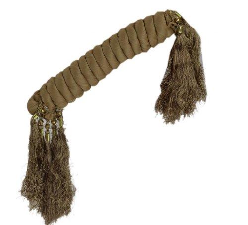 Women New Dupatta Long Stole Chiffon Scarf Indian Deco Veil Fringes (Green) ()