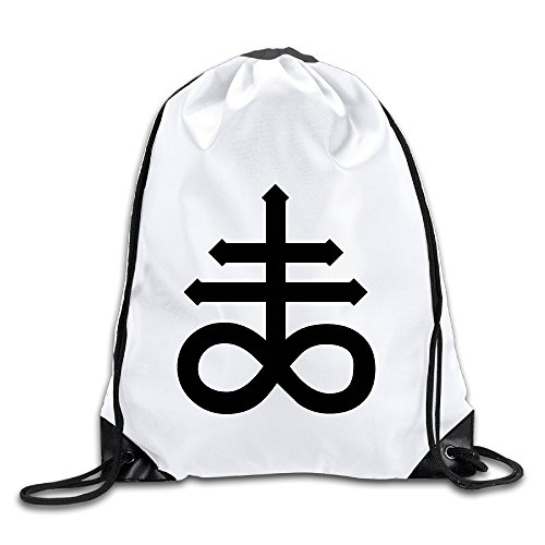 Price comparison product image Discovery Wild Leviathan Cross Polyester Drawstring Backpack Sack Bag Home Travel Sport Storage Use