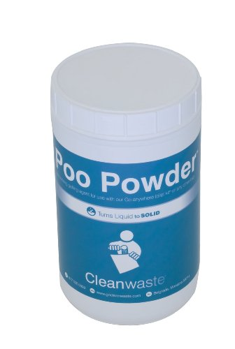 Cleanwaste Large Bulk Poo Powder Waste Treatment - 120 Scoops by Cleanwaste