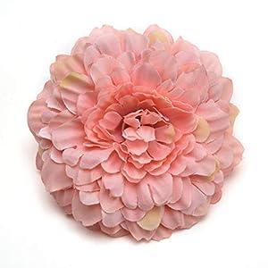 silk flowers in bulk wholesale Artificial Silk Flower Rose Bouquet for Wedding DIY Decorative Flowers Craft Fake Flower Wedding Decoration Wreaths 15pcs 6.5cm 75