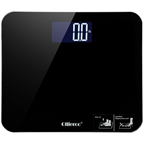 ollieroo-bathroom-scale-most-accurate-large-readout-400lb-precision-digital-body-weight-scale-with-t