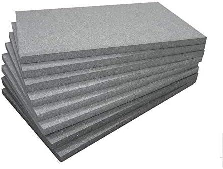 Polystyr/ène EPS Polystyr/ène expans/é fritt/é /épaisseur 2 cm pour isolation thermique poutres piliers ou syst/ème Manteau. Panneaux 100 blanc FUTURAZeta