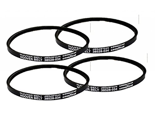 Hoover Agitator (Hoover Wind Tunnel Self Propelled (4 Pack) Replacement Agitator V-Belt # H-38528034-4pk)