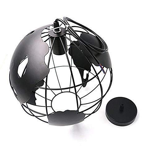 Moderno LED creativo de Globo Terráqueo – Lámpara LED de hierro de lámpara E27 de lámpara LED de araña iluminación