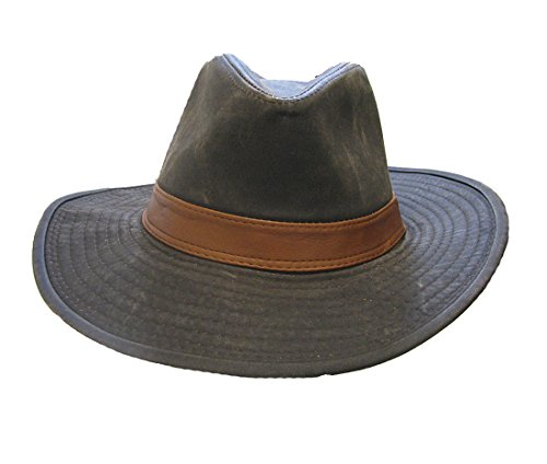 Hilarious Costume Ideas College (Jacobson Hat Company Faux Leather Safari Hat)
