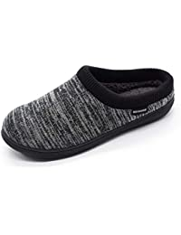 Men's Hoodback Slipper with Memory Foam